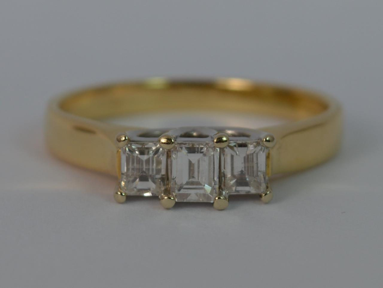 and affinity brilliant with trilogy engagement yellow white rings gold round ring diamonds